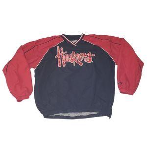 NCAA Nebraska Huskers Windbreaker Jacket XL